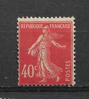 FRANCE    N° 194   **  NEUF SANS CHARNIERE - 1906-38 Semeuse Camée