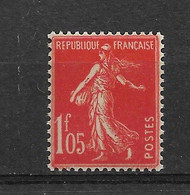 FRANCE    N° 195   **  NEUF SANS CHARNIERE - 1906-38 Semeuse Camée