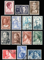 GREECE 1956 - Set Used - Used Stamps