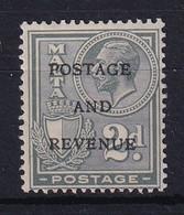 Malta: 1928   KGV 'Postage & Revenue' OVPT    SG180   2d     MH - Malte (...-1964)