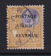 Malta: 1928   KGV 'Postage & Revenue' OVPT    SG184   4½d       Used - Malte (...-1964)