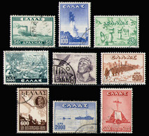 GREECE 1947 - Set Used - Used Stamps