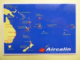 AIRLINE ISSUE / CARTE COMPAGNIE      AIRCALIN / AIR CALEDONIE INTERNATIONAL - 1946-....: Modern Era
