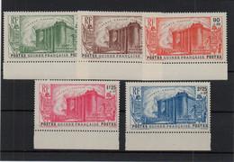 !!! PRIX FIXE : GUINEE, SERIE BASTILLE N°153/156 NEUVE ** BORD DE FEUILLE - Unused Stamps