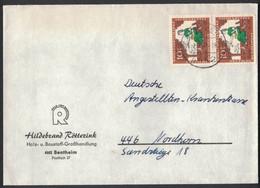 IW139     Germany 1968 - Cover Bentheim,  Mi.Nr. 485 - Brieven En Documenten