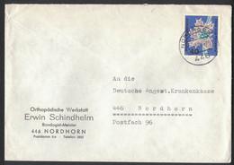 IW141     Germany 1964 - Cover Nordhorn,  Mi.Nr. 495 - Brieven En Documenten