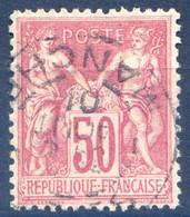 France N°104 (N/B) Oblitéré - (F1901) - 1898-1900 Sage (Type III)