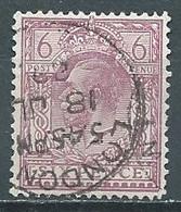 Grande-Bretagne YT N°167 Roi George V Oblitéré ° - Usados