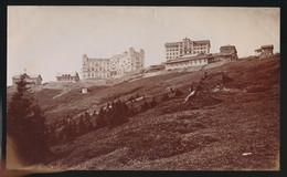 SUISSE LUCERNE - RIGI KULM  +- 1890   HOTEL RIGI KULM  21 X 13 CM  !!! KLEINE INKEPING BOVENAAN ZIE SCANS     3 SCANS - Antiche (ante 1900)