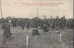 CPA Viet Nam Indochine Quang Yen Exécution Capitale 2 Assassins Annamites Avant L'abolition Peine De Mort 1905 - Vietnam