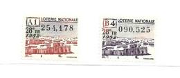 KB1434 - VIGNETTES LOTERIE NATIONALE - VUES DE TOMBOUCTOU - Autres