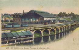 72 - Le Mans (Sarthe) - La Gare Des Tramways  De La Sarthe - Le Mans
