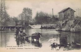 72 - Le Mans (Sarthe) - Pontlieue - Vieux Pont Sur L'Huisne - Le Mans