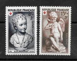 "France : "" Croix Rouge ""  N° 876/877 Neufs **  TB (cote 6,00 €) - Ongebruikt"