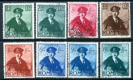 ROMANIA 1940 Aviation Fund Used  Michel 617-24 - Usado