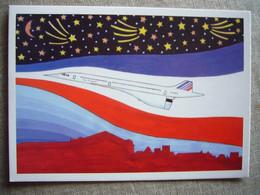 Avion / Airplane / AIE FRANCE / Concorde / Création : P. Hamm - 1946-....: Modern Tijdperk