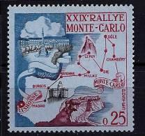 "Monaco YT 524 "" 29e Rallye Automobile "" 1960 Neuf** - Unused Stamps"
