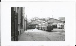 Photo - Tramway  Dépot De Nancy ?? Le 22 Avril 1956 - Treni