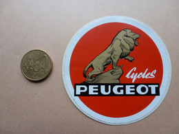STICKER  CYCLES PEUGEOT - Stickers