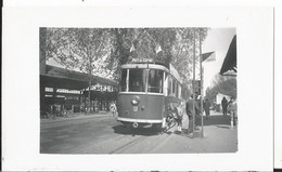 Photo - Tramway  - Ligne Port Du Canal   - Gros Plan -  Colmar 68 - Haut Rhin - Treni