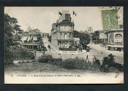 CPA - DINARD - Le Boulevard Des Falaises Et Hôtel Emeraude - Dinard