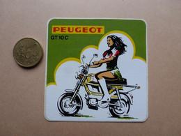 STICKER  PEUGEOT   GT  10 C - Stickers
