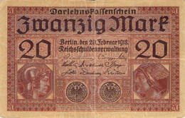 20 Mark 1918 VF/F (III) H 4615513 - 20 Mark