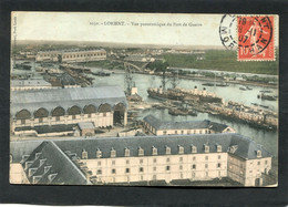 CPA - LORIENT - Vue Panoramique Du Port De Guerre - Lorient