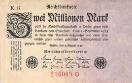 2 Mio Mark 1923 AU/EF (II) K17-216069 - 2 Millionen Mark