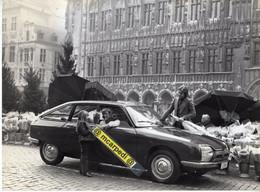 < Auto Automobile Voiture Car >> Photo De Presse Originale 17x24 Citroën GS G Special 1978, Marché Aux Fleurs Bruxelles - Auto's