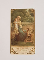 Carte Souvenir De Retraite Orphelinat De Monaco Octobre 1941 - Religión & Esoterismo