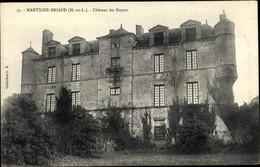 CPA Martigné Briand Maine Et Loire, Château Des Noyers - Sonstige Gemeinden