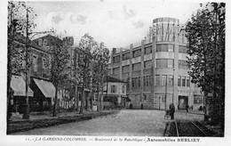 Bd De La République Automobiles Berliet - La Garenne Colombes