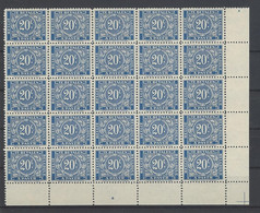 TX 50 A ** - Briefmarken