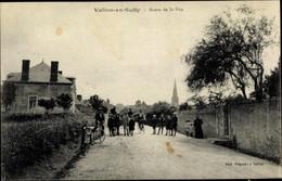 CPA Vallon En Sully Allier, Route De Saint Vite, Velos - Other Municipalities