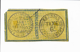 REUNION - Fiscal - Engagement - 1878 - Forbin No 17 - Otros