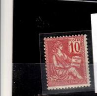 France > 19001900-1920 >N° 116  Neuf SANS CHARNIÈRE - Nuevos