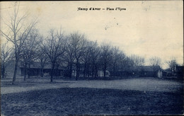 CPA Ypres Yonne, Camp D'Avor, Place D'Ypres - Other Municipalities