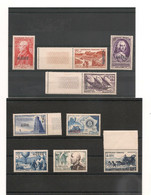 1952/58  LOT DE TIMBRES NEUFS - Unused Stamps