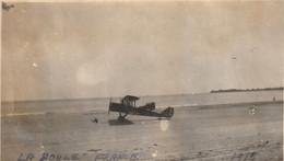 Photo 1918 LA BAULE-ESCOUBLAC - Un Avion Spad Sur La Plage, Aviation (A225, Ww1, Wk 1) - La Baule-Escoublac
