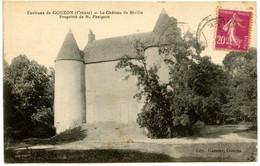 Environs De GOUZON - Château De Réville - Voir Scan - Otros Municipios