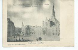 Tournai Brasserie Des Flandres Vieux Tournai Grand Place ( Petites Défauts VOIR Scans !!! ) - Tournai