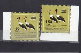 Stamps SOUTH SUDAN 2012 2017 SURCHARGED 50 150 POUNDS MNH # 161 - Sud-Soudan