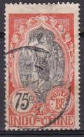 Indochine Timbres De 1907 Cambodgienne Et Pagode N°54 Oblitéré - Oblitérés