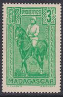 Madagascar N° 186  XX Partie De Série : Général Galliéni : 3f. Vert Sans Charnière, TB - Unused Stamps