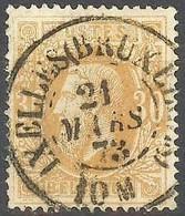N° 33 Met Mooi Gestempelde DC : IXELLES (BRUXELLES) - 1869-1883 Leopold II