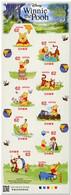 Japon Nippon 2018 8857/66 Winnie L'ourson ( The Pooh ) Dessin Animé, Miel, Tigre, Abeille - Honeybees