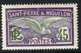 ST-PIERRE-ET-MIQUELON - Aigle - Y&T N° 88-121-123 - 1909-17, 1924-27 - Unused Stamps