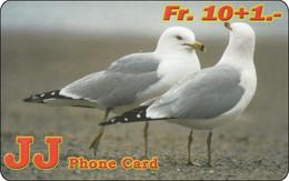 Schweiz Phonecard  Nice Bird Vogel Möve - Otros