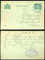 Nederland 1915 Briefkaart Van 's Hertogenbosch Naar Nijmegen Geuzendam  80 A I - Entiers Postaux